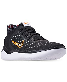the best attitude c1fe7 858cb Nike Men s Free RN 2018 Just Do It Running Sneakers from Finish Line