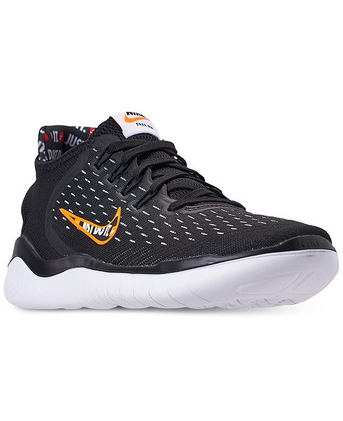 ea2858f4a33950 Nike Men s Free RN 2018 Just Do It Running Sneakers from Finish Line ...