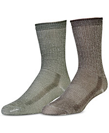 EMS® Merino Wool Hiking Socks, 2-Pack
