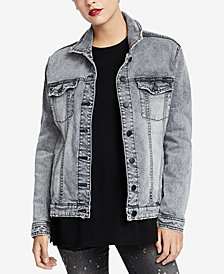 RACHEL Rachel Roy Denim Trucker Jacket, Created for Macy's