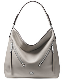 MICHAEL Michael Kors Evie Pebble Leather Hobo