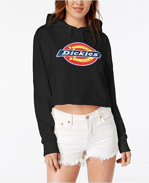 Dickies Logo Cropped Hoodie