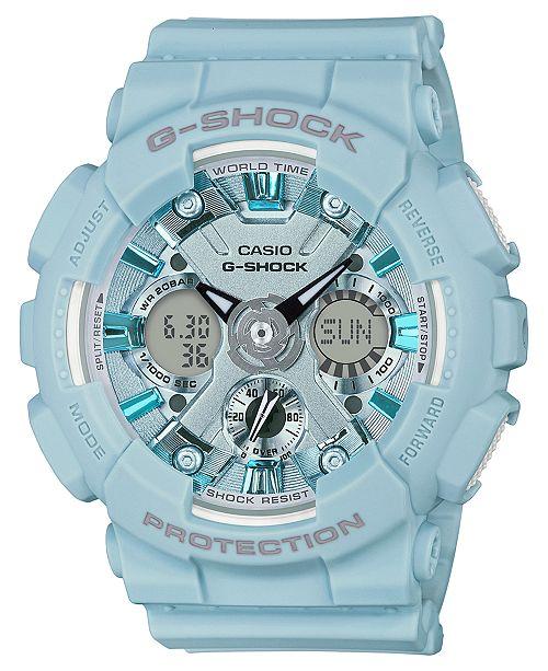 05f8520b21fce ... 45.9mm  G-Shock Women s Analog-Digital Light Blue Resin Strap Watch  45.9 ...