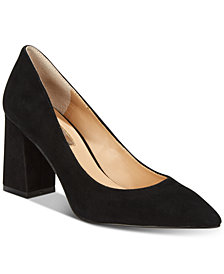 I.N.C. Bahira Block-Heel Pumps, Created For Macy's