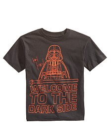 Star Wars Little Boys Welcome to the Dark Side Graphic Cotton T-Shirt 0a847a1ea