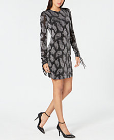 MICHAEL Michael Kors Metallic Jacquard Dress, In Regular & Petites