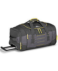 "High Sierra Acc 2.0  26"" Wheeled Duffel Bag"
