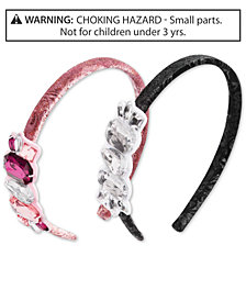 On the Verge Little & Big Girls 2-Pk. Embellished Headbands Set