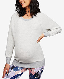 A Pea In The Pod Maternity Crew-Neck Sweatshirt