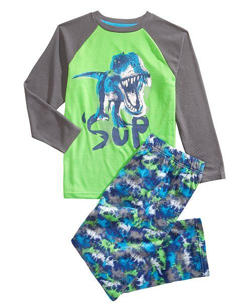 Max   Olivia Little   Big Boys 2-Pc. Sup Dinosaur Pajama Set ... 689008ef2