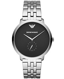 Emporio Armani Men's Stainless Steel Bracelet Watch 42mm