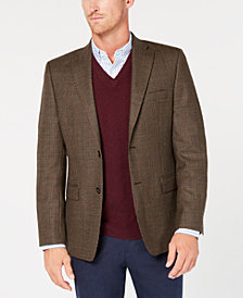 Lauren Ralph Lauren Men's Slim-Fit UltraFlex Stretch Light Brown Houndstooth Sport Coat