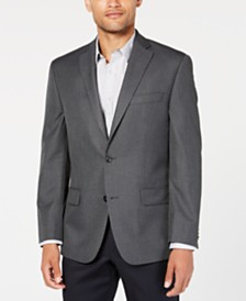 Michael Kors Men's Classic-Fit Gray/Blue Check Sport Coat