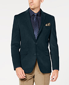 Bar III Men's Slim-Fit Stretch Corduroy Sport Coat, Created for Macy's
