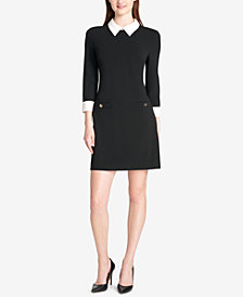 Tommy Hilfiger Collared Shift Dress