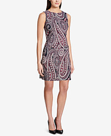 Tommy Hilfiger Paisley Velvet Dress