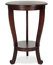Mary Pedestal Side Table