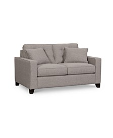 "Clarke II 62"" Fabric Loveseat, Created for Macy's"