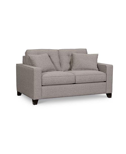 Furniture Clarke Ii 62 Fabric Loveseat