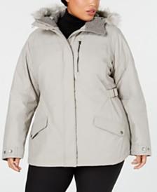Columbia Plus Size Penns Creek™ Faux-Fur-Trimmed Jacket