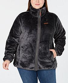 Columbia Plus Size Fire Side™ II Fleece Zip Jacket