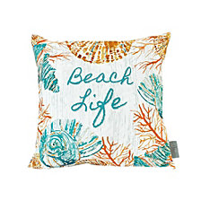 Sara B Beach Life Square Accent Pillow