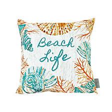Sara B Beach Life Square Accent Pillow