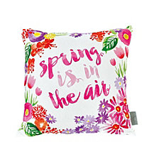 Sara B Spring is in the Air Square Accent Pillow