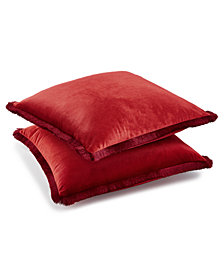 """Lacourte Sam 20"""" Square Decorative Pillow Pack, Created for Macy's"""