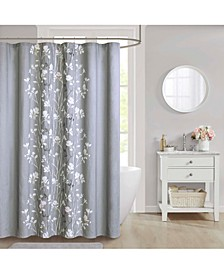 "CLOSEOUT! Vaughn Cotton 72"" x 72"" Shower Curtain"
