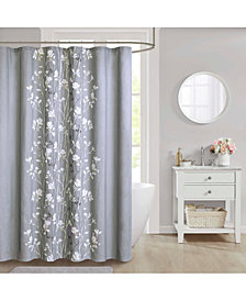 "Décor Studio Vaughn Cotton 72"" x 72"" Shower Curtain"