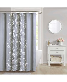 "CLOSEOUT! Décor Studio Vaughn Cotton 72"" x 72"" Shower Curtain"