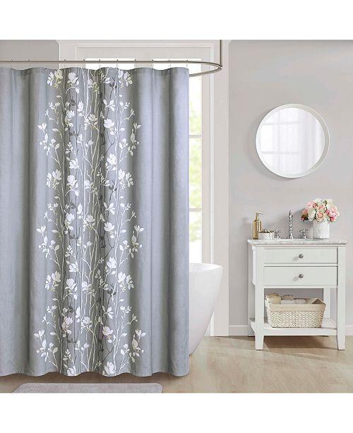 "JLA Home CLOSEOUT! Vaughn Cotton 72"" x 72"" Shower Curtain"
