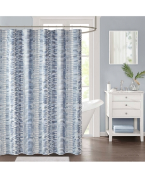90 By Design Lab Dani 72 X Printed Shower Curtain And Hook Set
