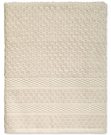Avanti Checkerboard Cotton Terry Jacquard Bath Towel