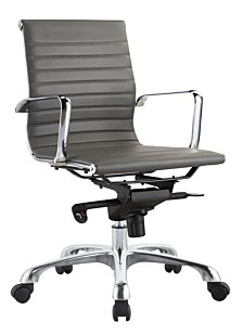 Omega Office Chair Low Back Gray