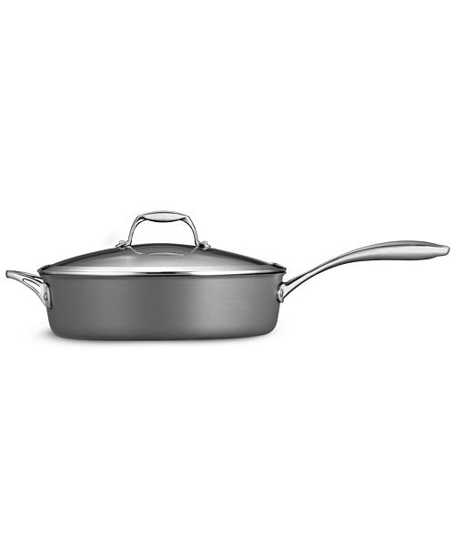 Tramontina Gourmet Hard Anodized 5.5 Qt Covered Deep Sauté Pan