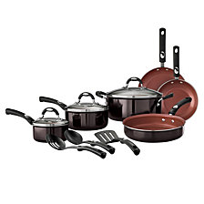 Tramontina Style Black Cherry 12 Pc Cookware Set