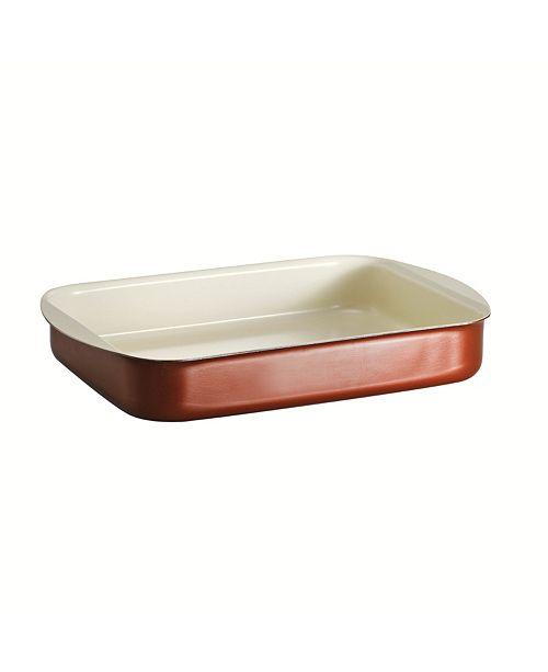 Tramontina Style Ceramica Metallic Copper 14 x 10 in Roasting Pan