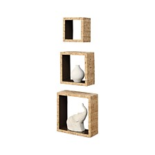 Organize it All Set of 3 Cork Wall Cubes