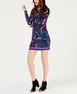 Trina Turk Camellia Printed Shift Dress 6804262