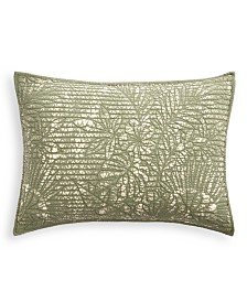 Martha Stewart Collection Botanical Standard Sham, Created for Macy's