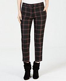 Marella Tango Plaid Trousers