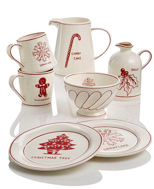 Christmas Dinnerware.Home Essentials Molly Hatch Christmas Dinnerware Collection