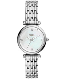 Women's Carlie Stainless Steel Bracelet Watch 29mm