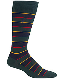 Polo Ralph Lauren Men's Hunter Regimental Stripe Trouser Socks