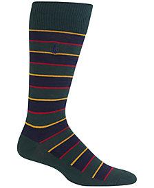 Polo Ralph Lauren Men's Hunter Regimental Stripe Trouser Socks