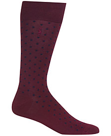 Polo Ralph Lauren Men's Mercerized All-Over Dot Trouser Socks
