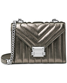 MICHAEL Michael Kors Whitney Mini Metallic Shoulder Bag