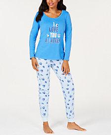 Matching Family Pajamas Women's Love You A Latke Pajama Set, Created for Macy's